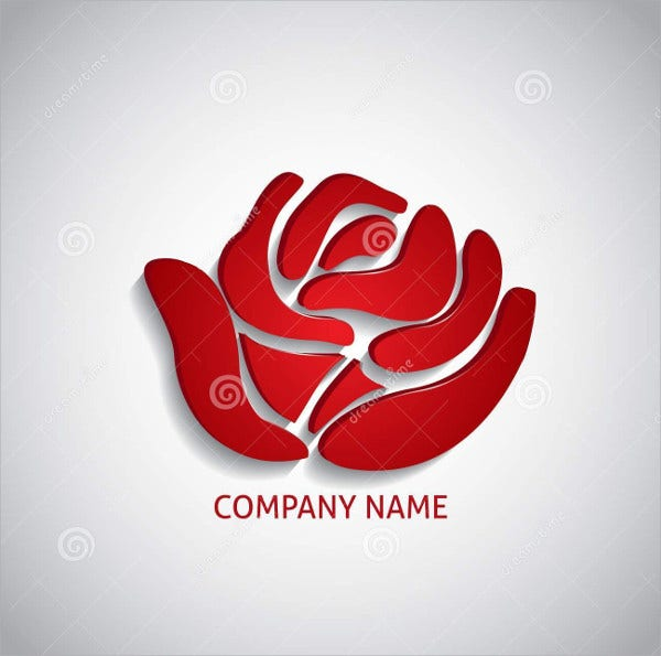 Red Logo for Company