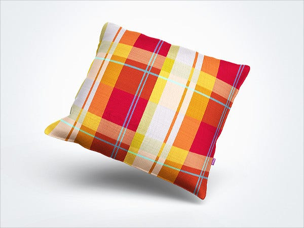 Decorative Pillow Mockup