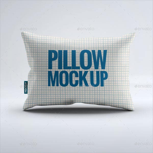 Fabric Pillow Mockup