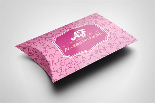 Pillow Box Mockup