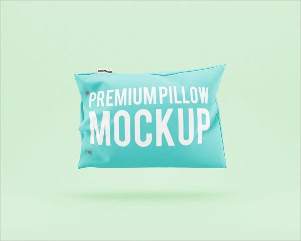 premium pillow mockup