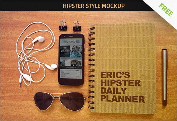 Free Hip Style Mockup