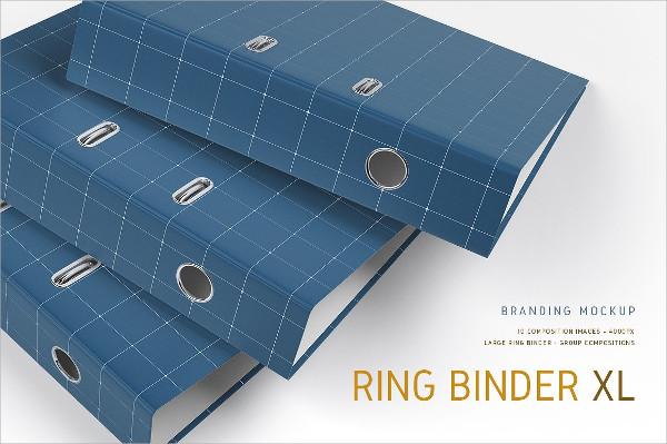 Ring Binder Mockup