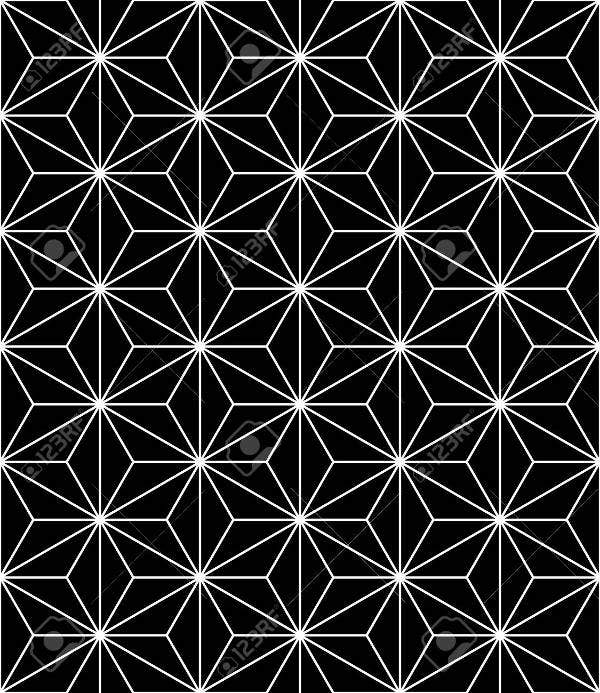 black-geometric-pattern