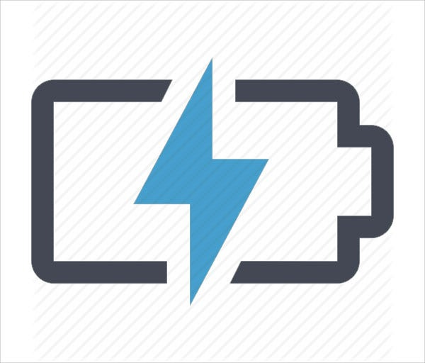 Battery Power Icon
