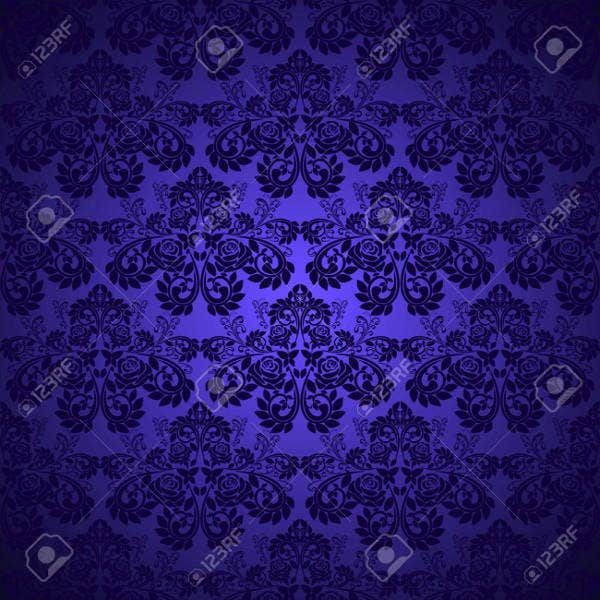 damask-blue-patterns
