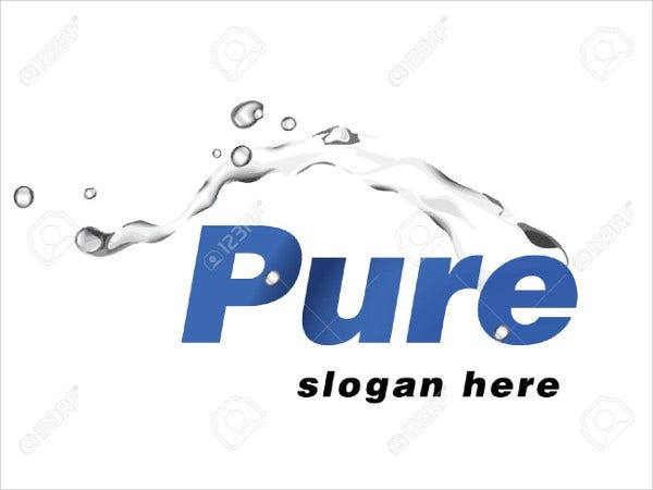 Water Logo for Company