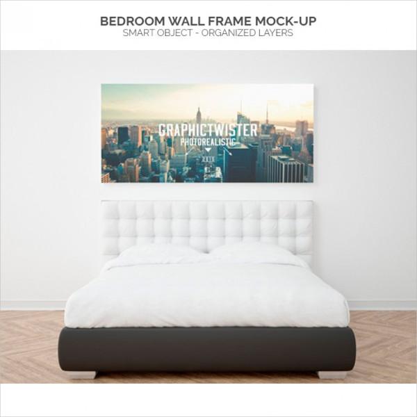 Bedroom Wall Mockup