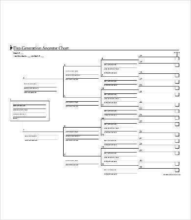Family Tree Chart Templates - Free Samples, Examples Format