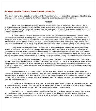 Examples Of Informative Essays | Resume Cv Cover Letter
