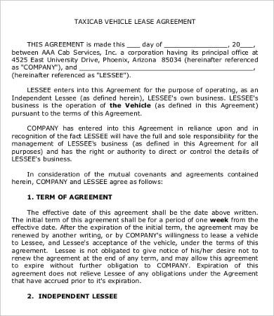 Private Lease Agreement Template 8 Free Word Pdf Documents