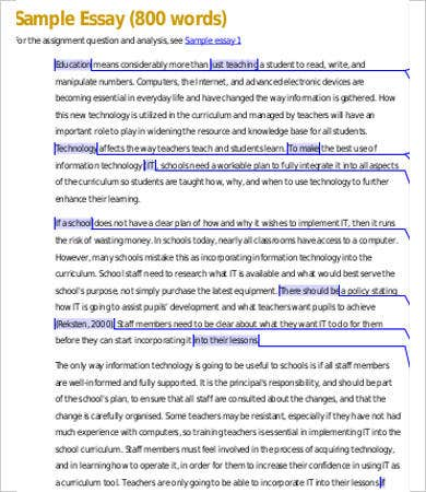 Informative Essay – 9+ Free Samples, Examples, Format Download ...