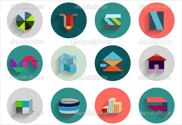Vector Geometric Icons