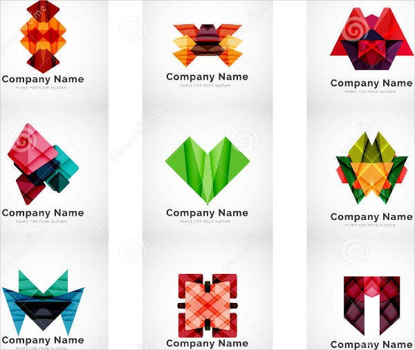 Abstract Geometric Icons Set