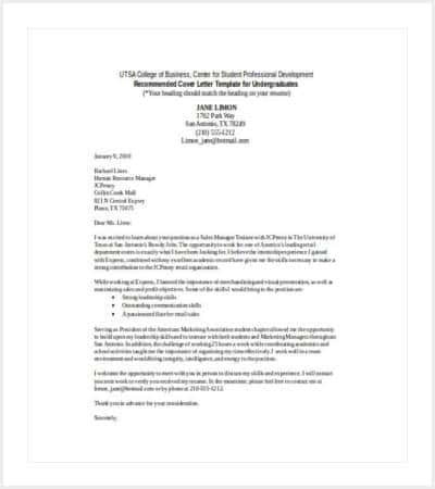 retail sales cover letter word template min