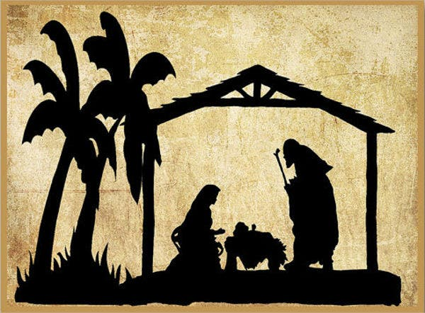 picture relating to Free Printable Silhouette of Nativity Scene named 9+ Nativity Silhouettes - Absolutely free PSD, AI, Vector, EPS Layout
