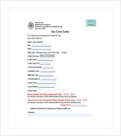 sample fax cover letter min