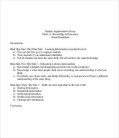 sample argumentative college essay1