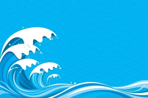 Blue Wave Vector