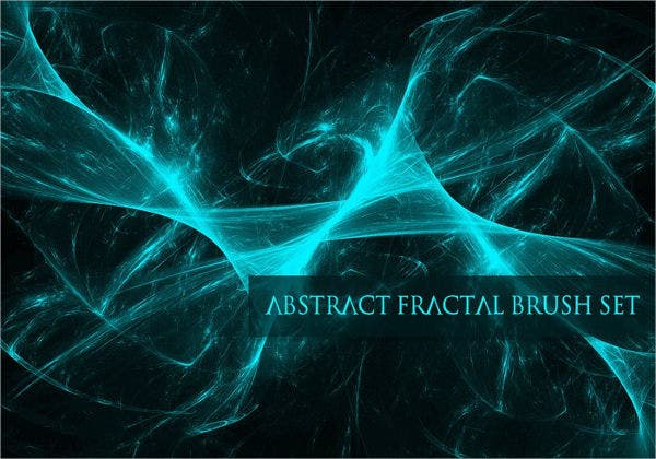 Abstract Fractal Brushes