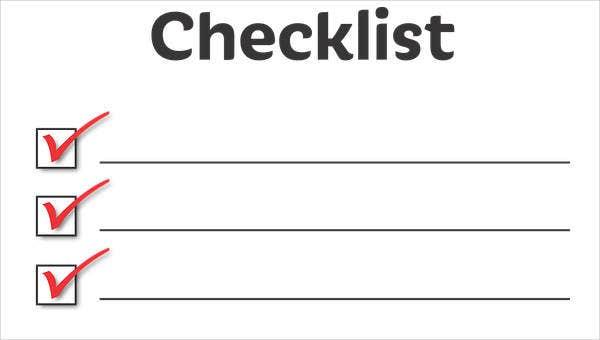 resignation checklist templates