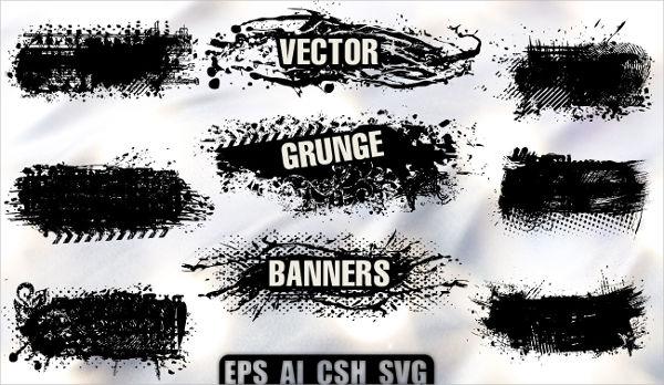Grunge Vector Banner