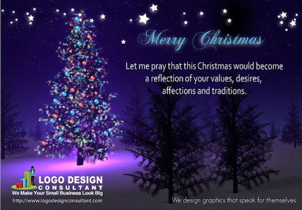 Free Email Merry Christmas Card