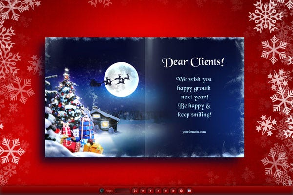 Free Email christmas Card