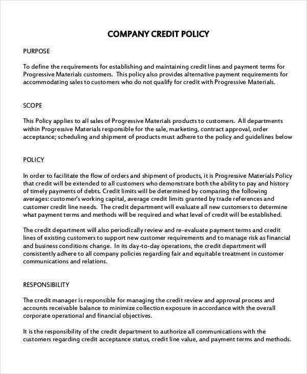 Company policy template 10 free pdf documents download for Company email policy template