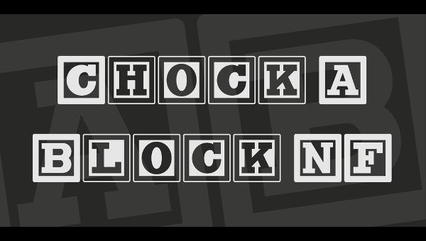 block-serif-font