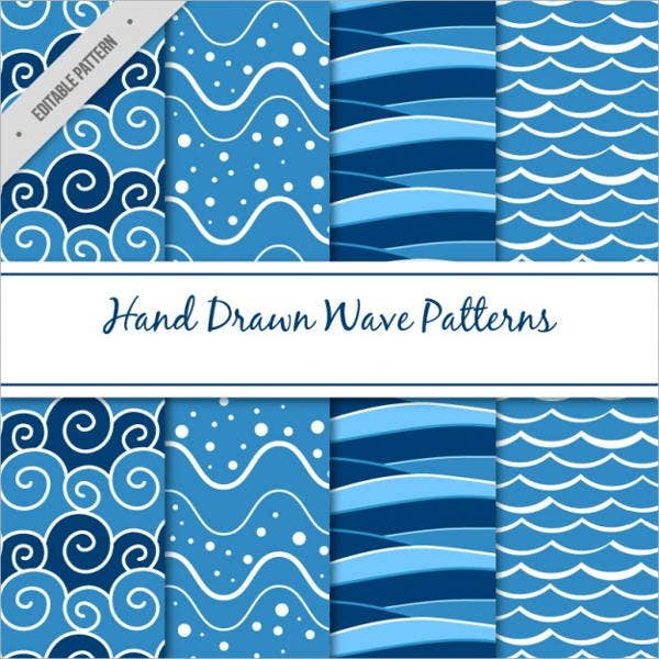 hand-drawn-patterns-with-waves