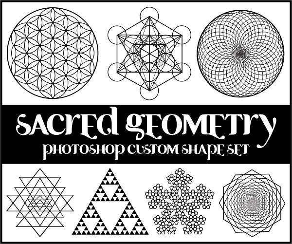 Sacred Geometry PS Custom Shapes