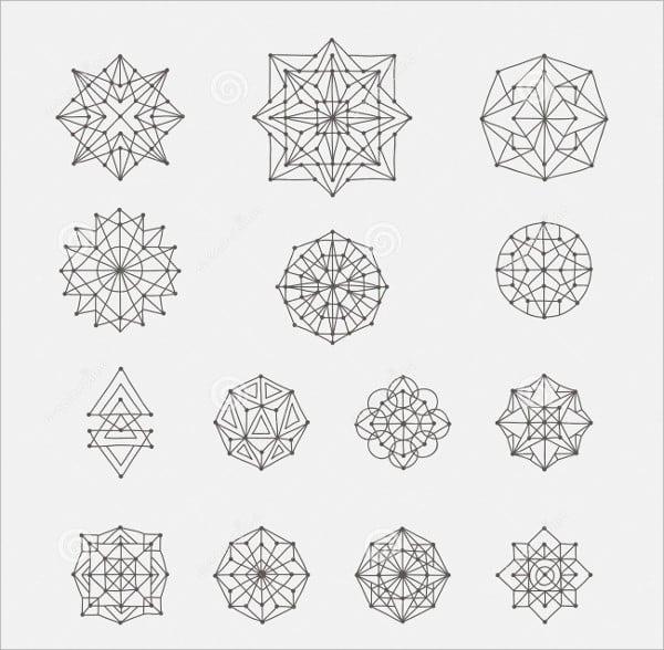 Geometric Doodle Shapes