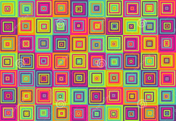 colorful squares pattern