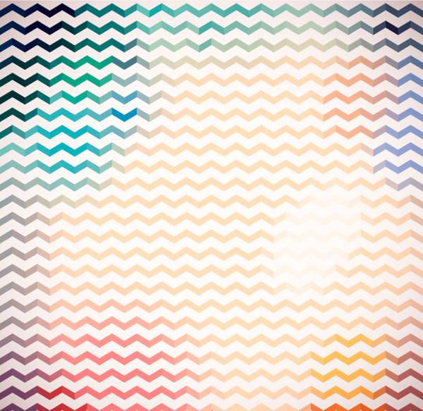 zig zag colorful pattern