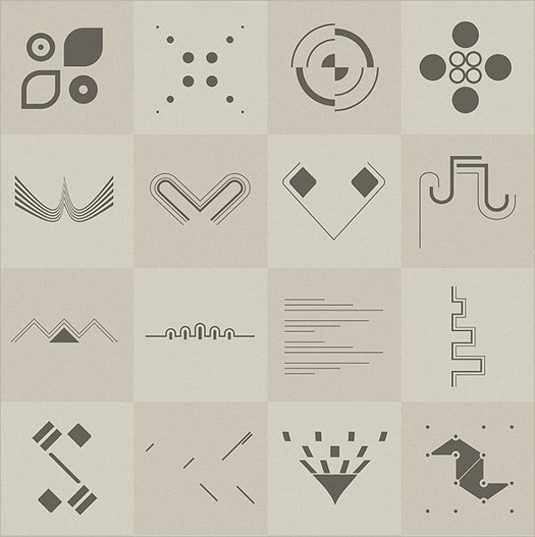 Hi-Tech Photoshop Shapes
