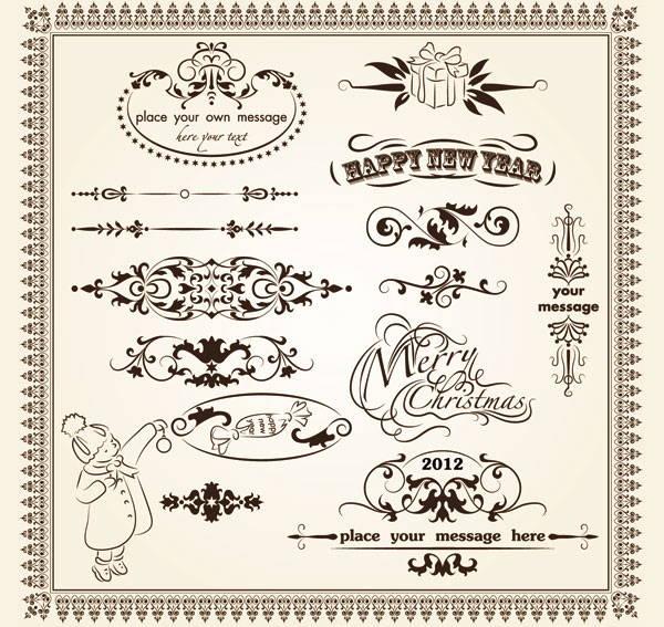 decorative-border-vintage-vector