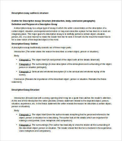 Examples Of A Proposal Essay Descriptive Essay Outline Sample How To Stay Healthy Essay also Importance Of English Language Essay Descriptive Essay   Free Samples Examples Format Download  Essay On Library In English