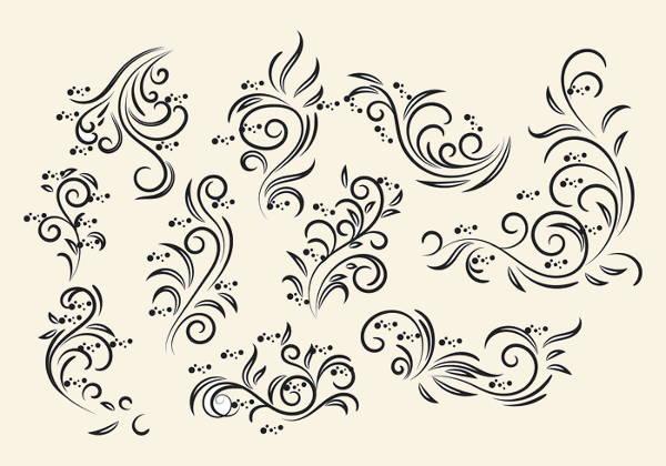 vintage-floral-vector