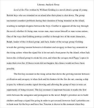 sample literary analysis essay1
