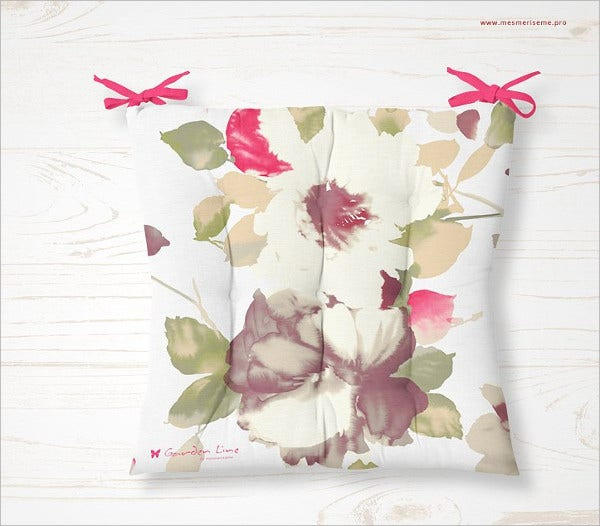 Outdoor Cushion Mockup