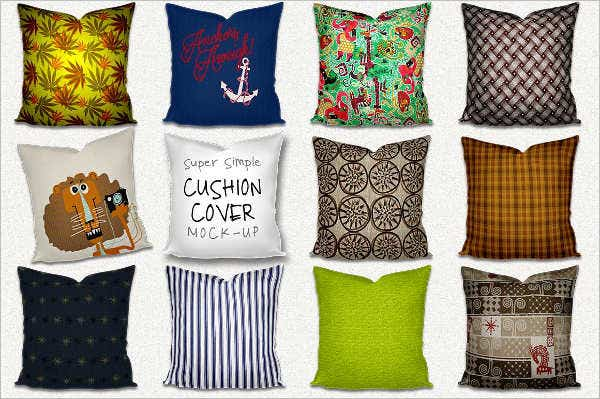 Cushion Cover Mockup