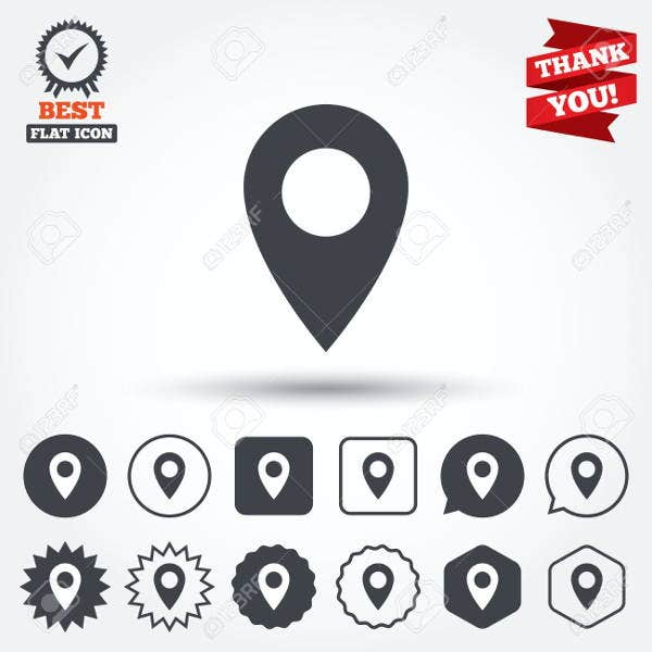 location-bubble-icons