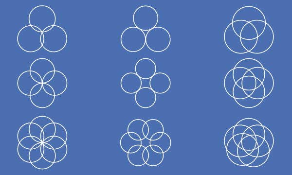 circular-geometric-shapes