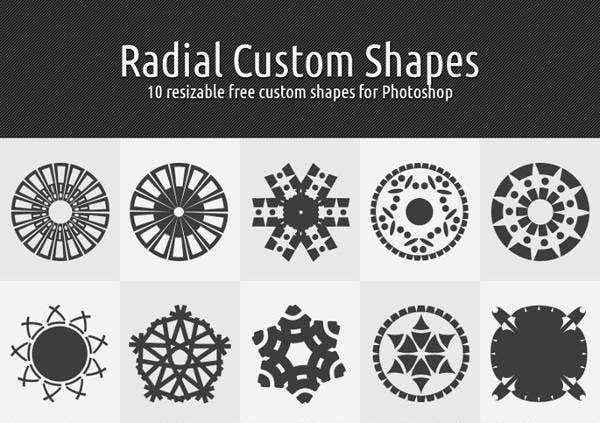 radial-circle-custom-shapes