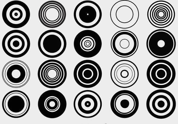 retro-circular-shapes