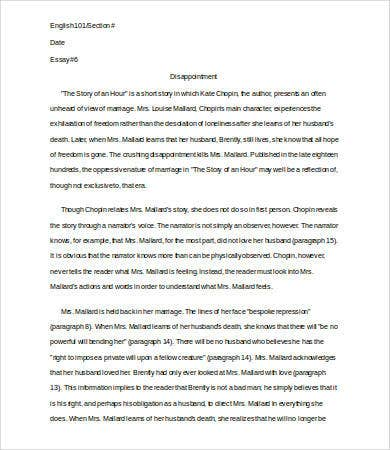 analysis essay template   free sample example format  free  literary analysis essay template