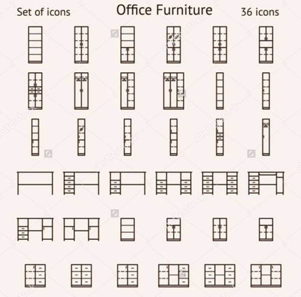 office-furniture-icons