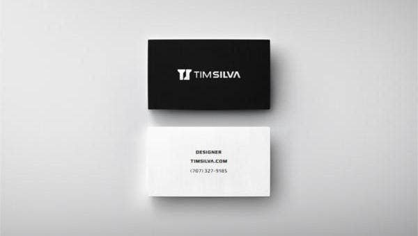 minimalistbusinesscards
