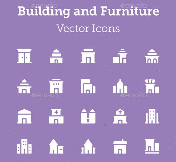 building-and-furniture-icons